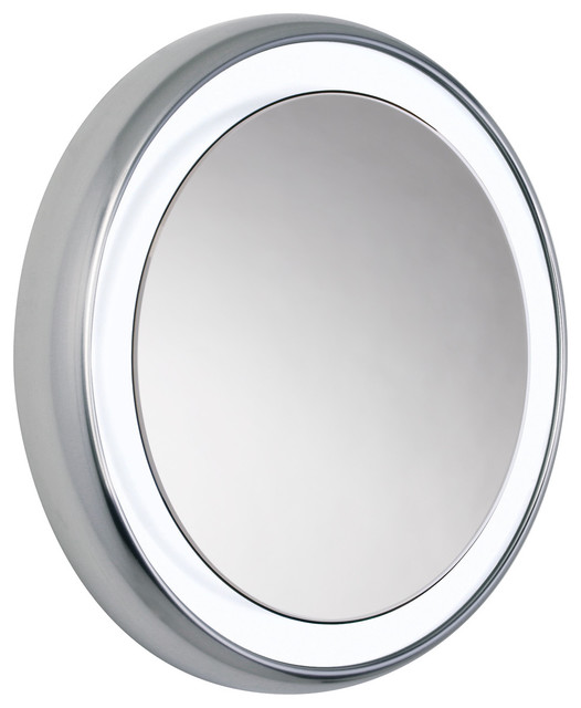 Tigris Round Mirror By Tech Lighting Contemporary