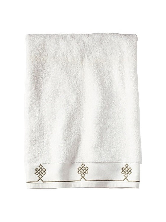Serena & Lily - Bark Gobi Bath Sheet - There's nothing quite like getting out of a hot shower and wrapping yourself in a plush, soft white towel. If your towels need updating, pick up a set of these adorable Gobi ones from Serena & Lily.