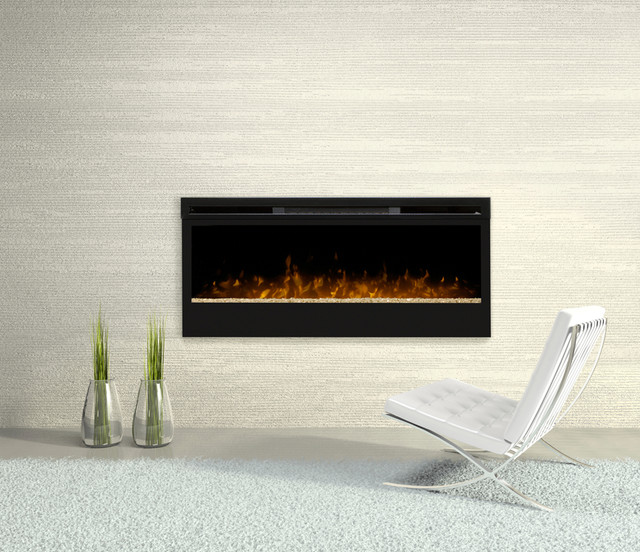 Dimplex Synergy 50-Inch Electric Fireplace - BLF50 contemporary-fireplaces