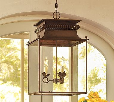 Bolton Lantern traditional-outdoor-hanging-lights