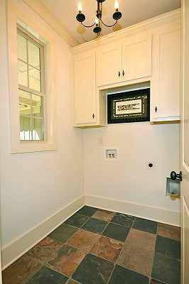 Lake Coweta Cottage traditional-laundry-room
