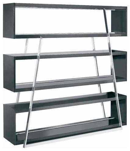 Kira Multimedia Shelving Storage Rack Modern Wall