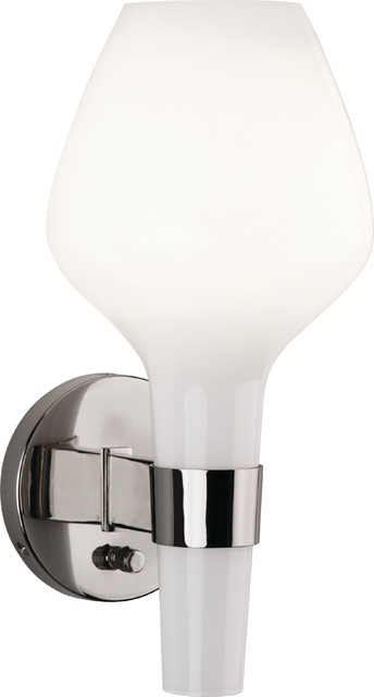 Jonathan Adler Capri Wall Sconce,White contemporary-wall-sconces