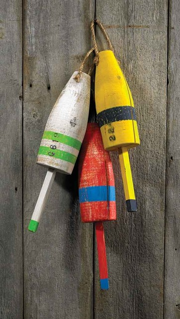 Maine lobster buoys eclectic home decor by