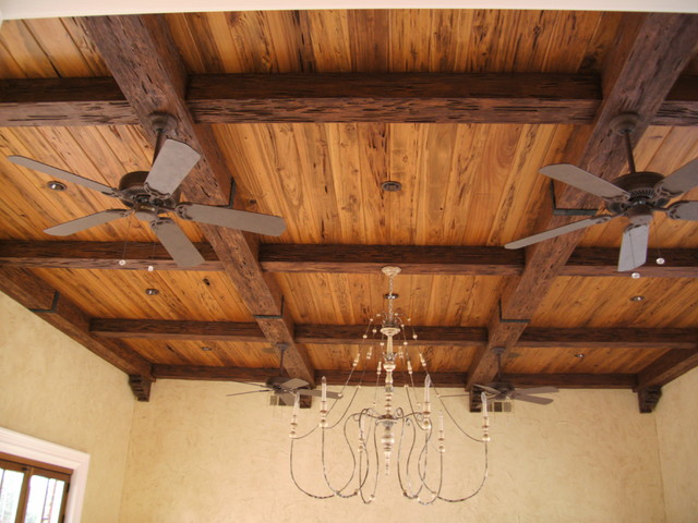 faux wood beam ceiling designs rustic family room new york by fauxwoodbeams. Black Bedroom Furniture Sets. Home Design Ideas