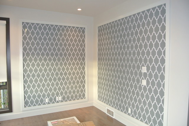 Thibaut, Farrow and Ball Wallpaper's - Contemporary - calgary - by Modern Wall Design