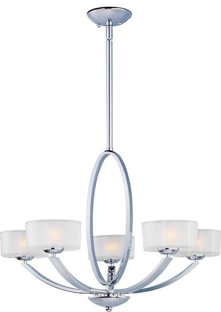 Elle 5-Light Chandelier modern-chandeliers