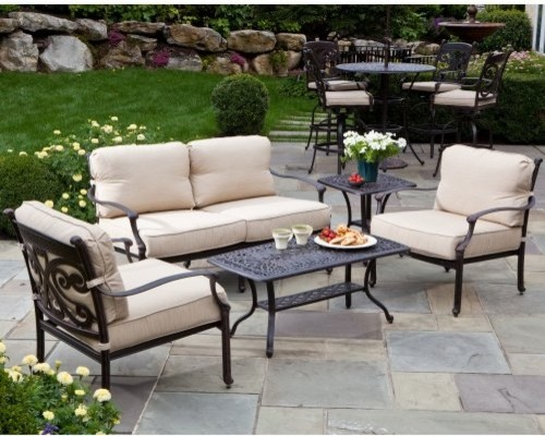 Alfresco Home Farfalla Conversation Set Contemporary Patio Furniture And Outdoor Furniture