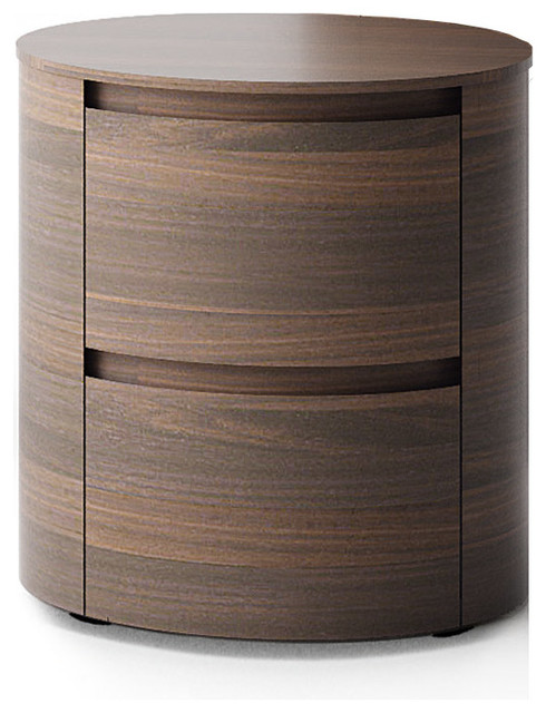 Round bedside cabinet universo by santarossa modern nightstands and bedside tables london - Bedside table ...