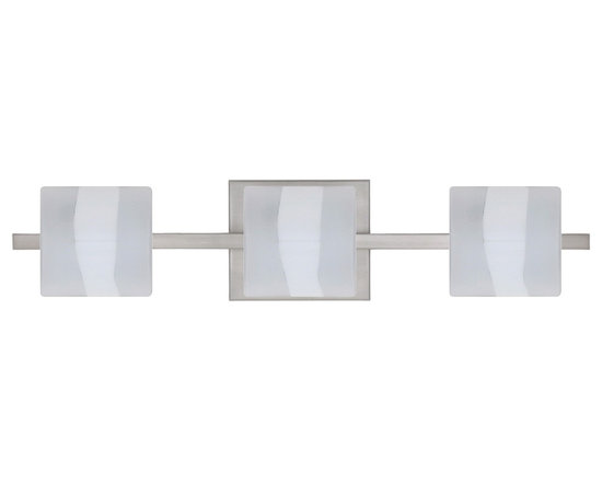 Paolo Vanity Light - Vanity Light comes in three finishes and as a 2, 4 or 5 light configuration.
