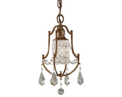 Feiss F2624/1OBZ Valentina Oxidized Bronze Pendant traditional-pendant-lighting