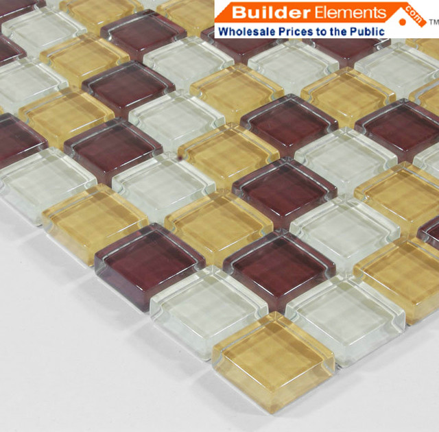Crystal Glass Tile, Glass Mosaic Tile, Glass Tile COB0026 modern