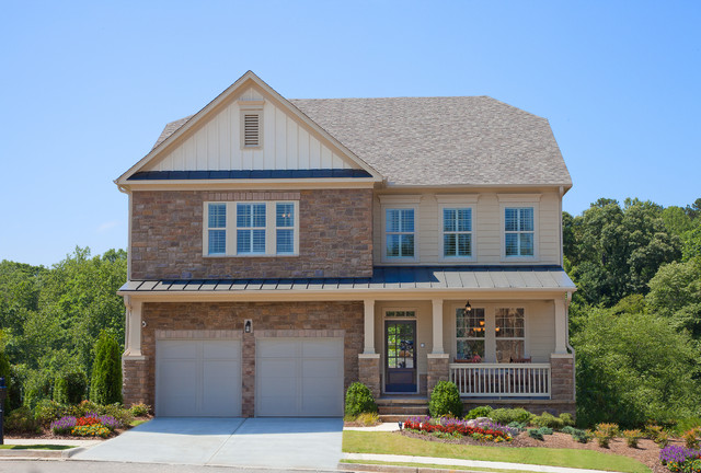Woodbridge Crossing Whitmore Model Home traditional-exterior