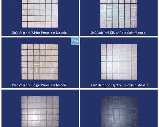 2X2 Valsinni & Bamboo Mosaic - All Tiles are on Sale now! Small or big job? We have what you need to do it right the first time. At The Tile Shoppe we take the time to listen to your needs. We then give expert advise from qualified industry professionals to ensure complete satisfaction.