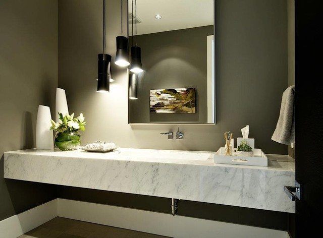 Interiors - contemporary - bathroom - calgary - by MoDA (Modern