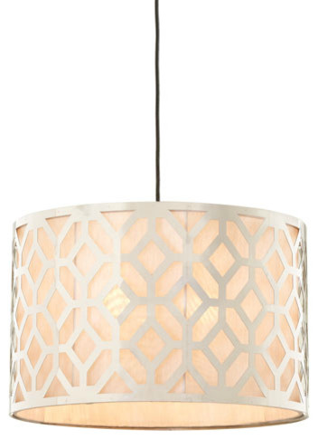 """Geometric"" Pendant Lights contemporary-pendant-lighting"