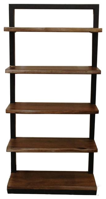 Organic Natural Wood Bookcase