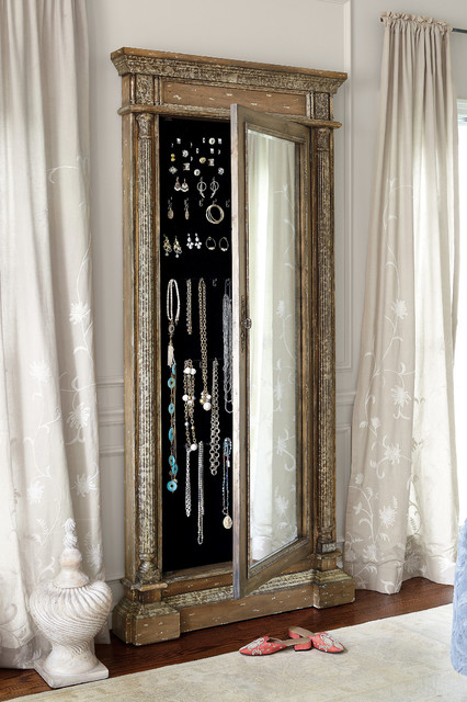 Mirrored Jewel Safe - Rustic - Safes - other metro - by Soft ...