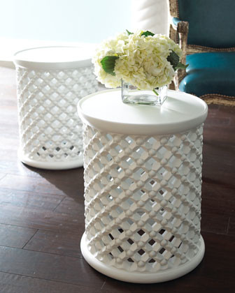 Moroccan Garden Seat traditional-outdoor-dining-tables
