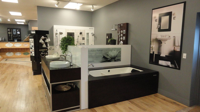 Denver kohler showroom contemporary bathtubs denver for Kitchen showrooms denver