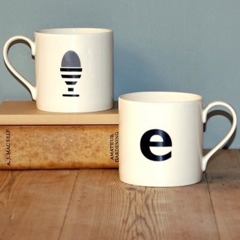 Contemporary Mugs by big tomato