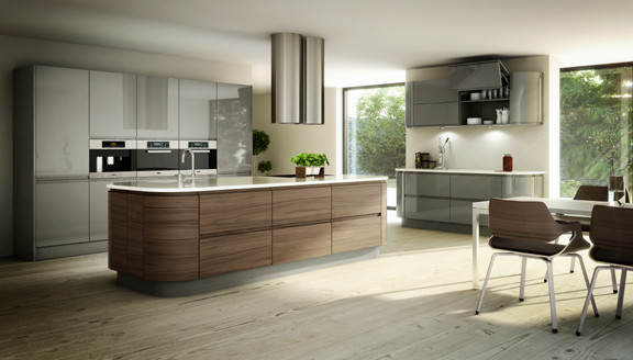 Neff Cabinetry of San Diego Designs Living Fine Cabinetry contemporary-kitchen-cabinetry