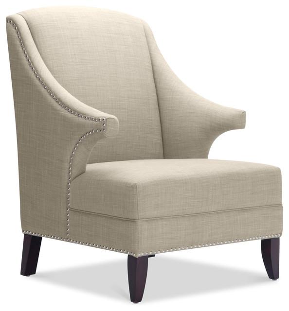 Douglas Arm Chair Beige modern-accent-chairs