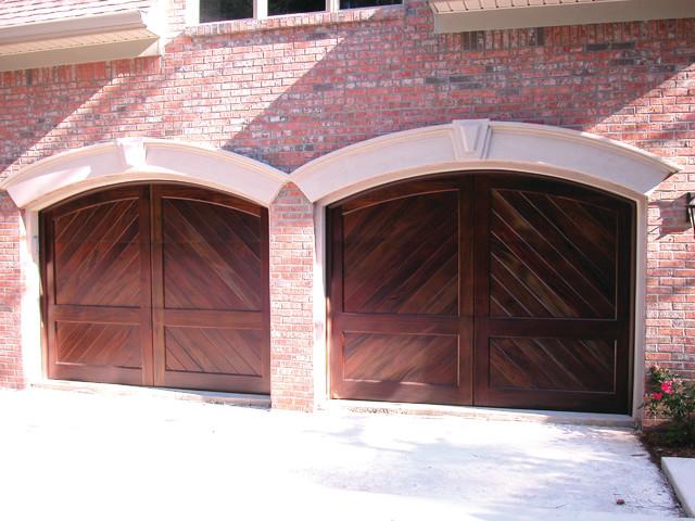 Custom Carriage House Doors traditional