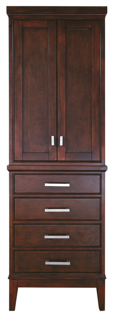 Madison Linen Tower transitional-bathroom-cabinets-and-shelves