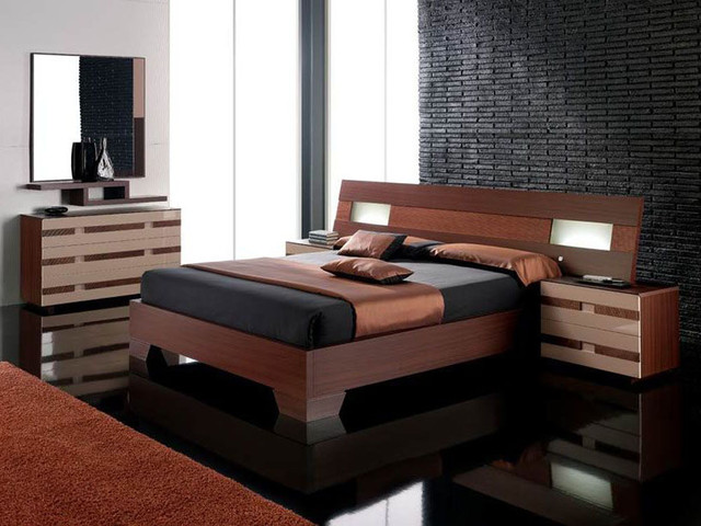 Made In Spain Wood High End Bedroom Furniture With Extra