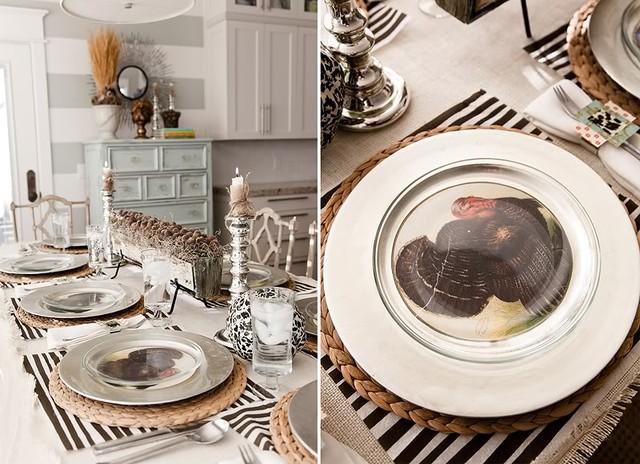 Thanksgiving Tablescape modern