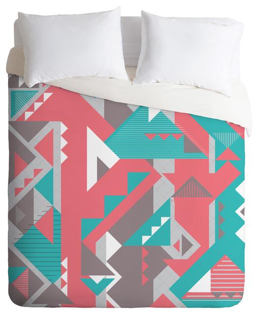 Sam Osborne Folded Angles Duvet Cover contemporary-duvet-covers
