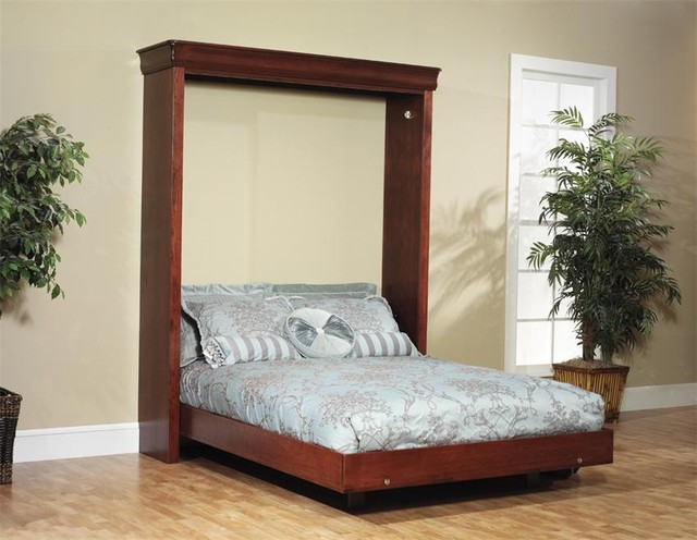 Amish Murphy Wall Bed Contemporary Beds Tampa