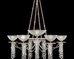 Cascades No. 748940 Chandelier by Fine Art Lamps contemporary-chandeliers