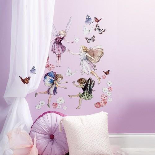 Fairyopolis Peel and Stick Wall Art modern-wall-decals