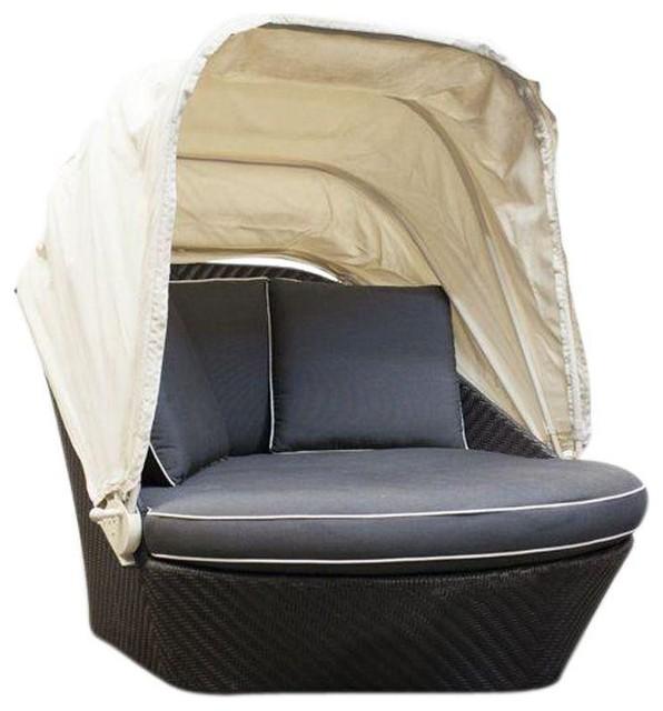 kreiss outdoor woven pod modern outdoor lounge chairs