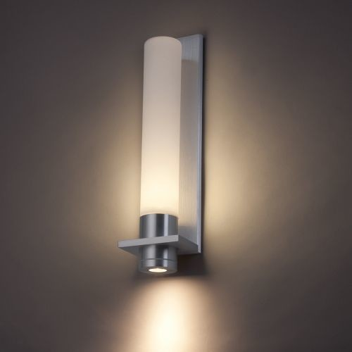 Bathroom Wall Light Sconces : Jedi Indoor/Outdoor LED Wall Sconce by Modern Forms - Modern - Wall Lighting - by Lumens
