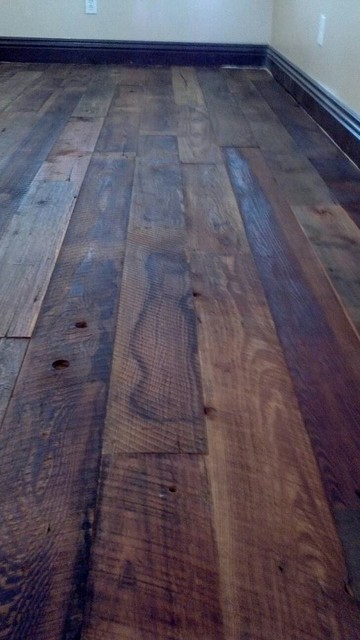 Vintage hardwood floors