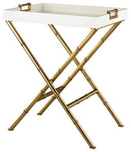 Meurice Butler Tray Table traditional-indoor-pub-and-bistro-tables