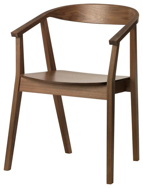 Stockholm Chair, Walnut Veneer