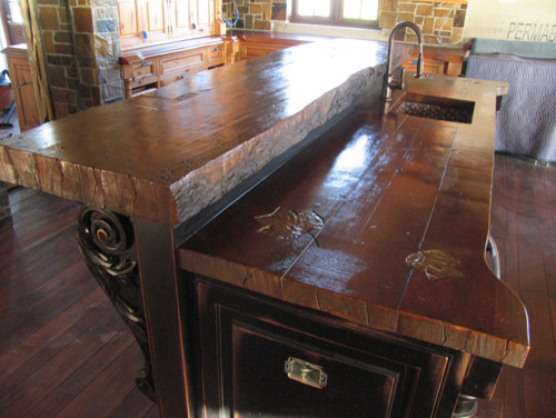 WoodForm™ Concrete traditional kitchen countertops