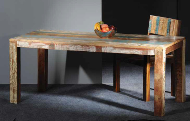 Pedros Reclaimed Wood Dining Table - modern - dining tables