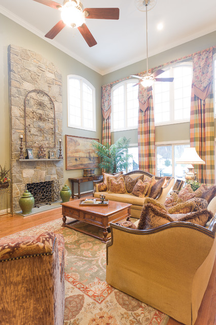 Living Room by Michelle Harmon at Sheffield Furniture & Interiors traditional-living-room