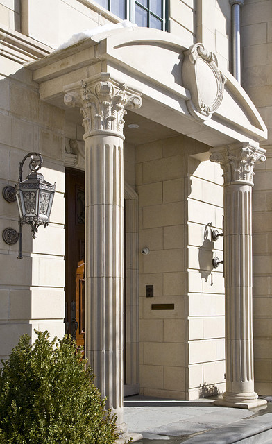 Natural Stone columns and pilasters eclectic