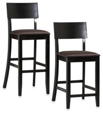 Linon Home Contemporary Stool contemporary-bar-stools-and-counter-stools