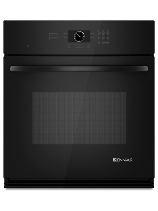 "Jenn-Air 27"" Single Electric Wall Oven, Black On Black 
