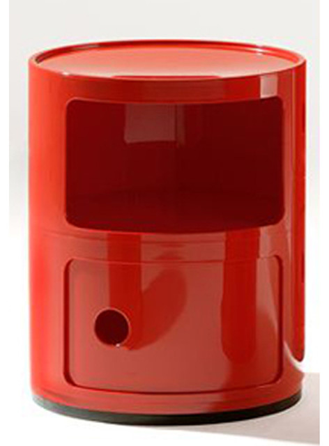 Kartell Componibili Rd Stacked-Double Storage Cabinet - Modern - Medicine Cabinets - by Switch ...