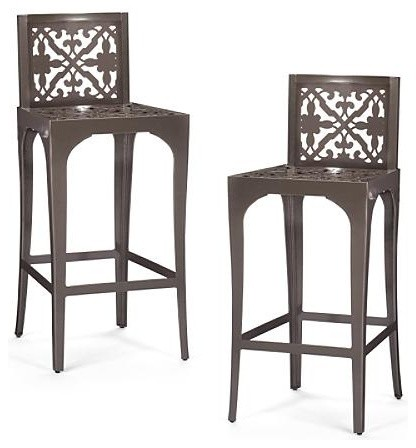 Laser Cut Outdoor Bar Stools Frontgate Patio Cut Outdoor Bar Stools
