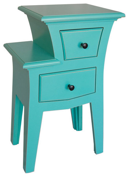 Dust furniture table no 2 modern nightstands and for Funky bedside tables