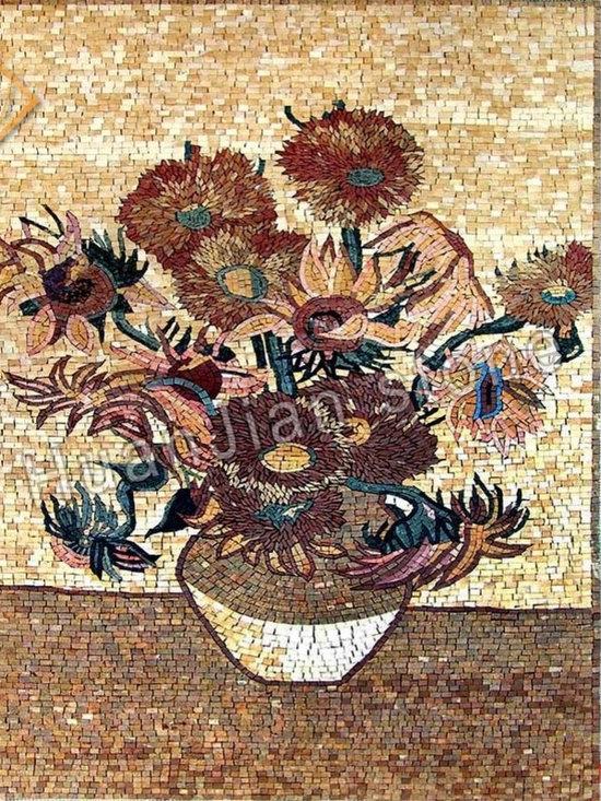 indoor/outdoor wall, floor, bathroom, kitchen and bedroom, etc. - Information on the Art Mosaic Picture: